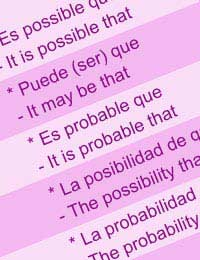 Spanish Language Learning Verbs